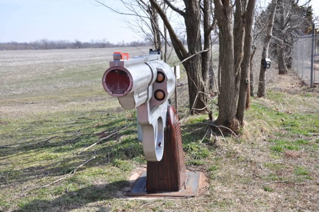 The coolest mailbox in oklahoma dodge challenger forum for Funny mailboxes for sale